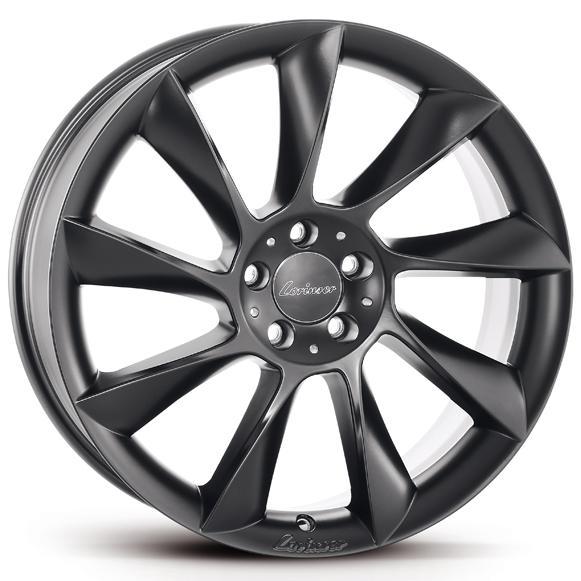 LORINSER RS8, černé matné